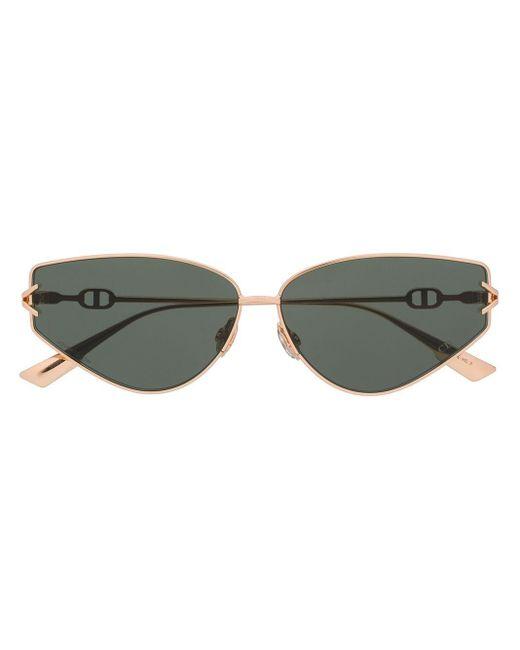 Солнцезащитные Очки Diorgipsy2 В Оправе 'кошачий Глаз' Dior, цвет: Metallic