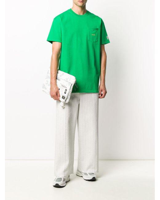 メンズ Axel Arigato チェストポケット Tシャツ Green