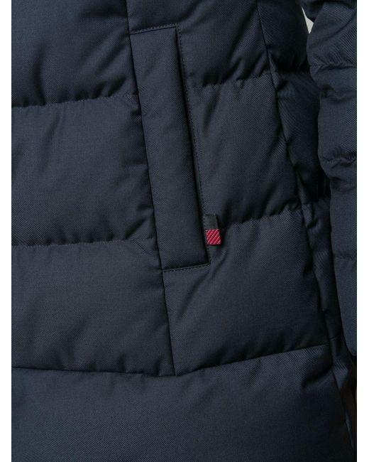 Woolrich パデッドコート Blue