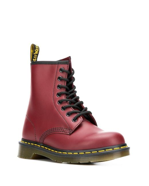 Dr. Martens 1460 アンクルブーツ Red