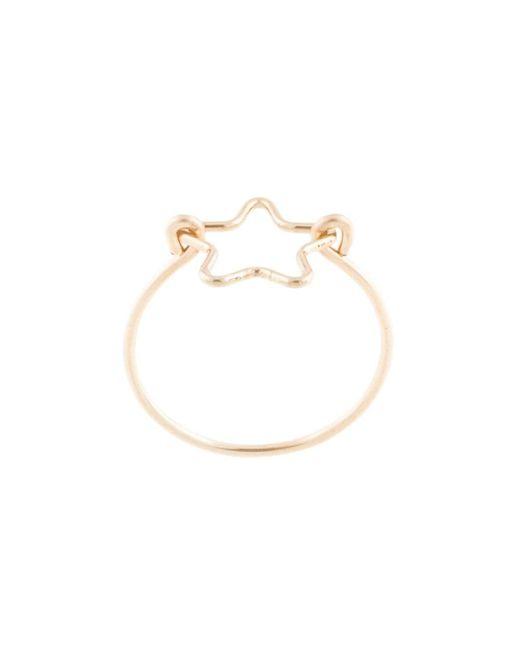 Декорированное Кольцо Petite Grand, цвет: Metallic