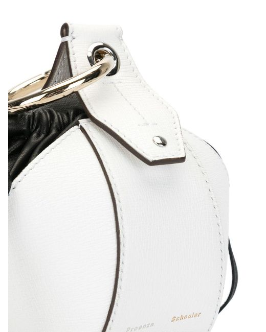 Мини-сумка Proenza Schouler, цвет: White