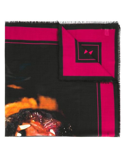 Givenchy ロットワイラー ストール Multicolor
