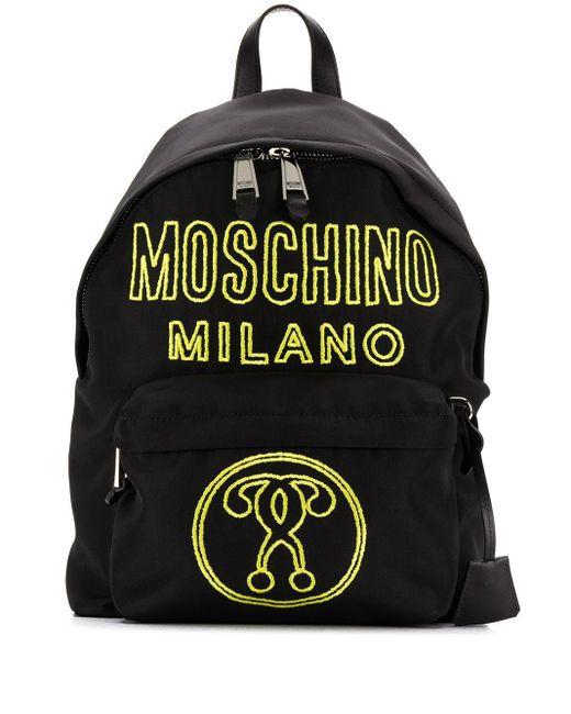 Moschino バックパック Black