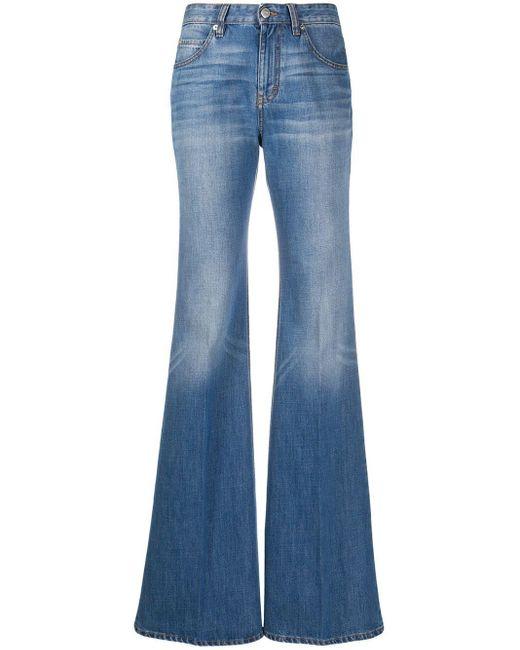 Расклешенные Джинсы San Fran С Завышенной Талией Victoria, Victoria Beckham, цвет: Blue