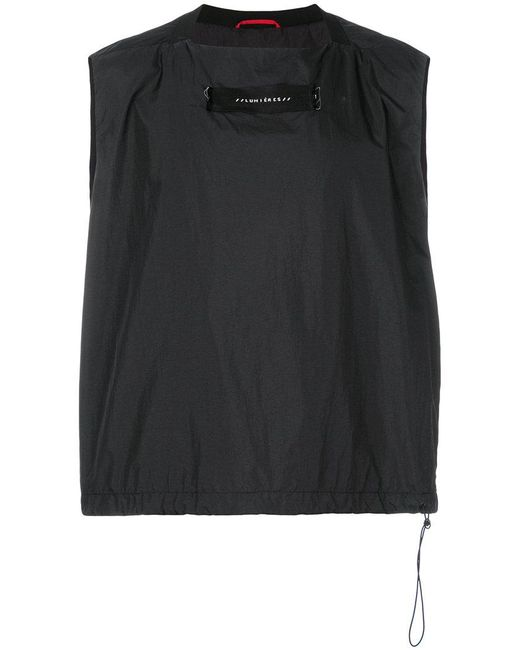 OAMC - Black Square Vest for Men - Lyst