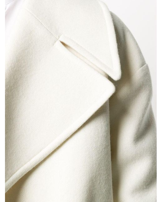Haider Ackermann オーバーサイズ ダブルコート White