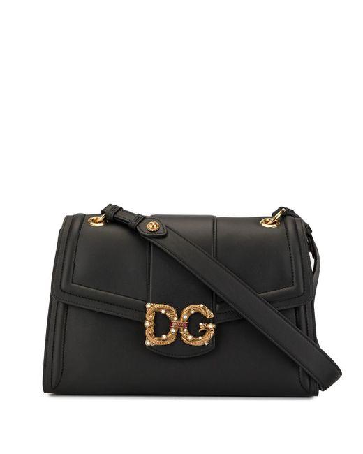 Dolce & Gabbana Dg Amore ショルダーバッグ Black