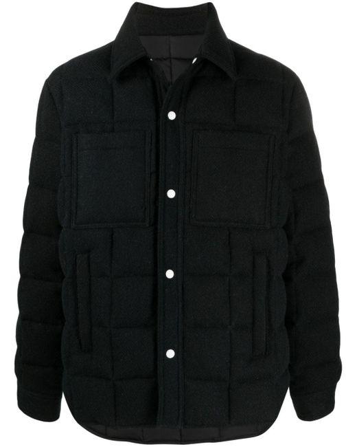 メンズ AMI パデッドジャケット Black
