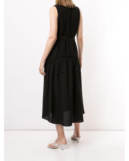 Платье С V-образным Вырезом 3.1 Phillip Lim, цвет: Black