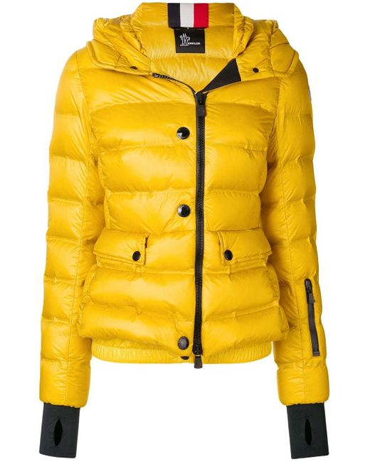 3 MONCLER GRENOBLE Armotech パデッドジャケット Yellow