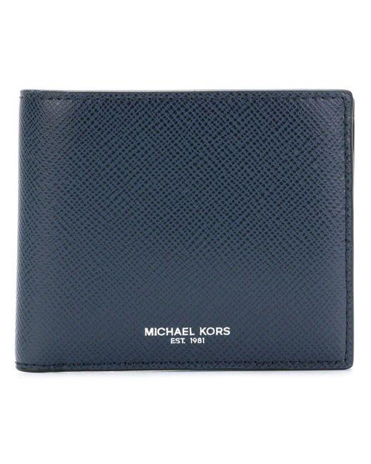 メンズ Michael Kors Harrison 財布 Blue