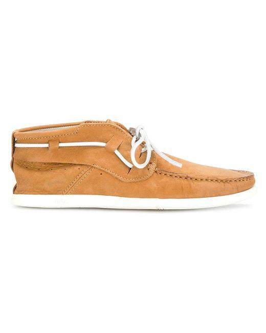 N.d.c. Made By Hand - Brown Chaussures bateau à détail noué for Men - Lyst