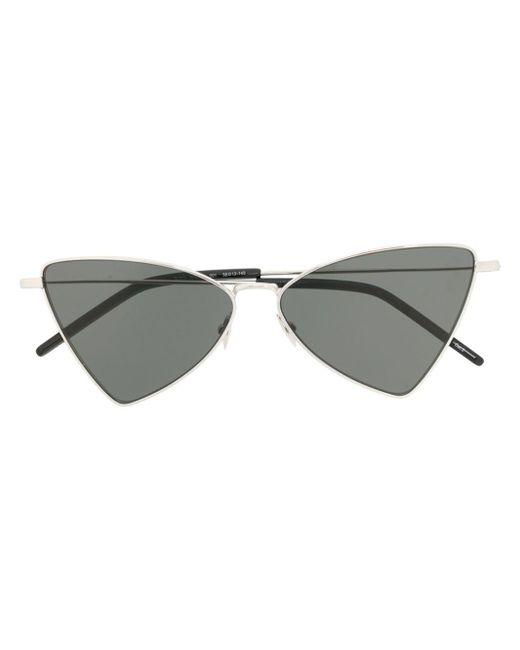 Солнцезащитные Очки В Треугольной Оправе Saint Laurent, цвет: Black