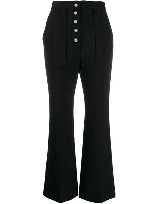 Stella McCartney フレアパンツ Black