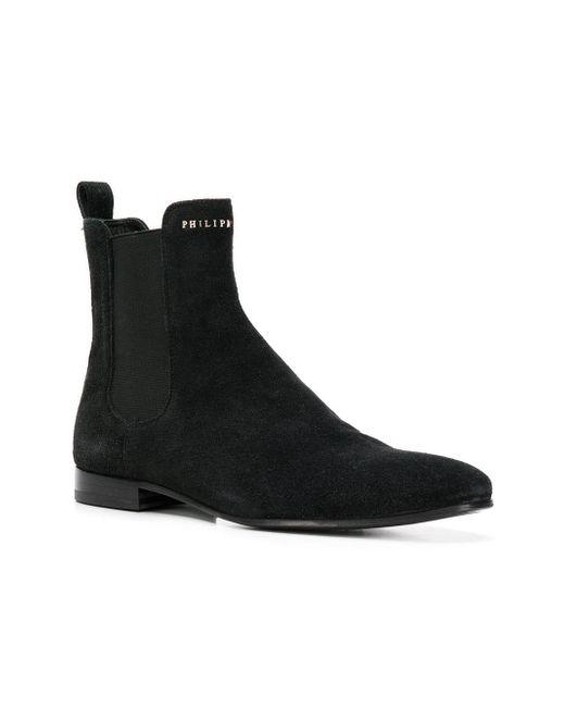Men Plein Philipp in Boots Chelsea for Black Lyst U0xFpwqp