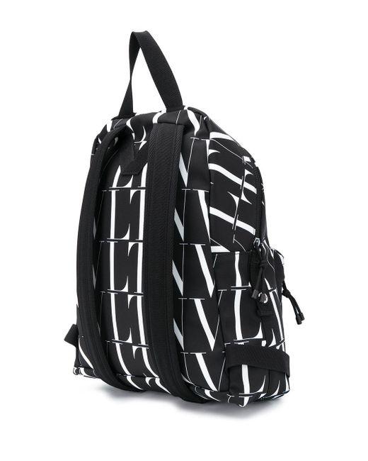 メンズ Valentino Vltn Times バックパック Black