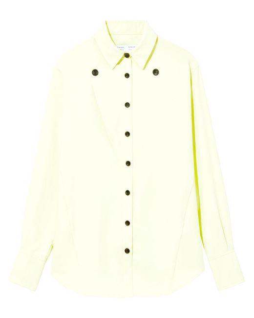 PROENZA SCHOULER WHITE LABEL ボタンシャツ Green