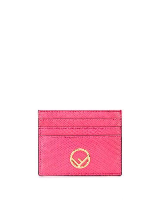 Fendi Ff カードケース Pink