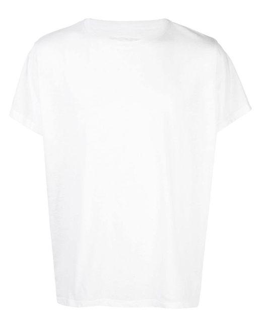 メンズ Greg Lauren プリント Tシャツ White
