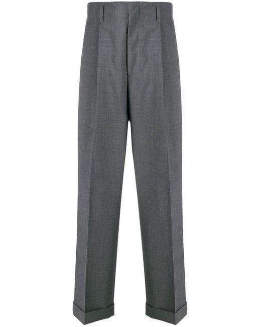 Pantaloni sartoriali di Gucci in Gray da Uomo