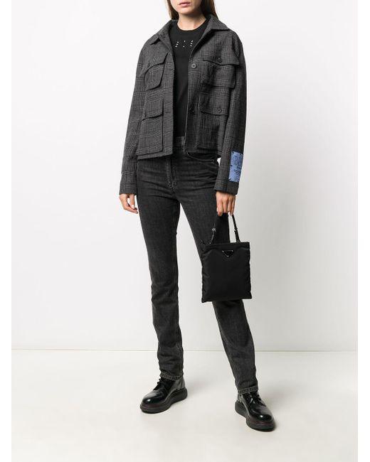 McQ Alexander McQueen ロゴパッチ Tシャツ Black