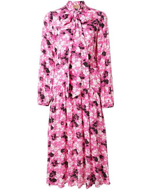 N°21 フローラル ドレス Pink
