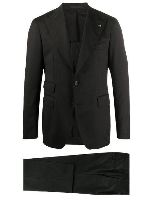 メンズ Tagliatore ツーピース スーツ Black