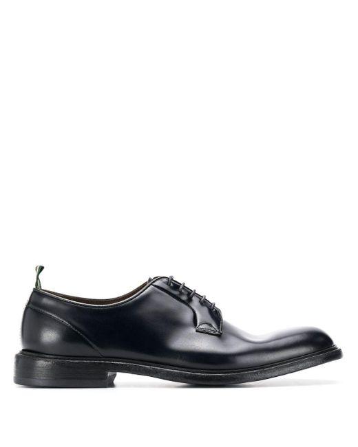 Туфли На Шнуровке Green George для него, цвет: Black