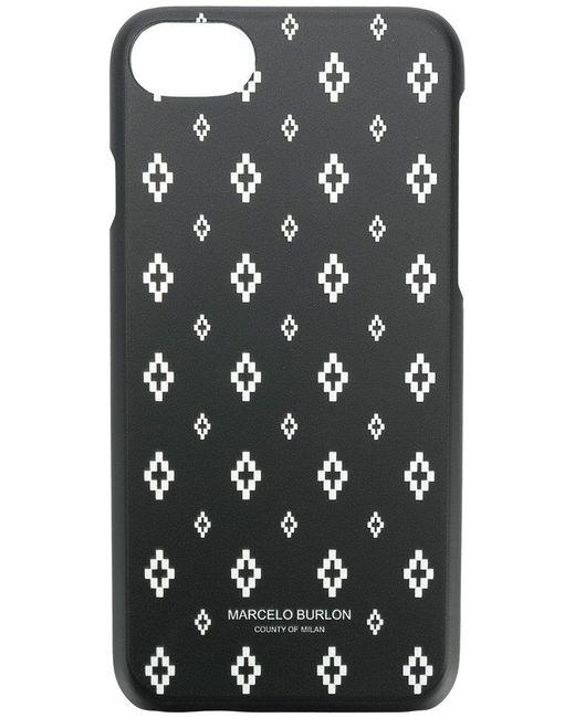 Marcelo Burlon - Black Printed Iphone 7/8 Case for Men - Lyst