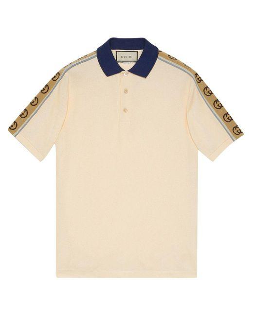 メンズ Gucci モノグラム ポロシャツ Natural