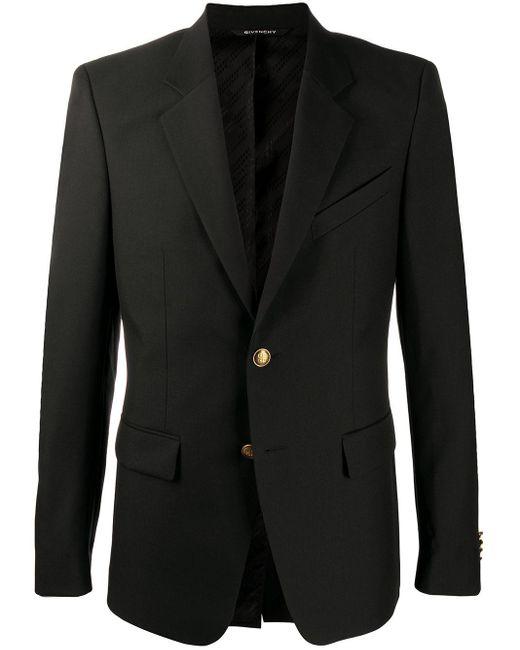 Однобортный Пиджак Givenchy для него, цвет: Black
