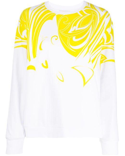 Emilio Pucci グラフィック スウェットシャツ White