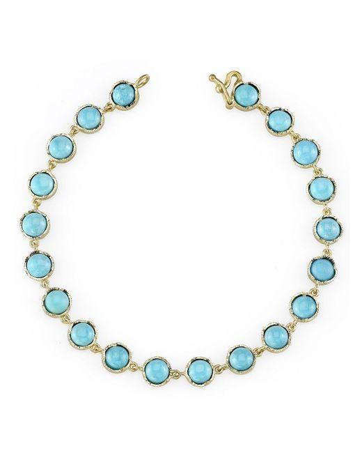 Irene Neuwirth Blue Turquoise Bracelet
