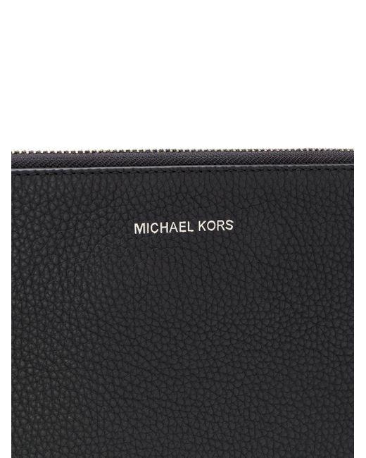 Клатч С Круговой Молнией Michael Kors для него, цвет: Black