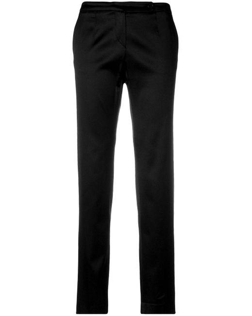 Giorgio Armani Pre-Owned クロップド パンツ Black