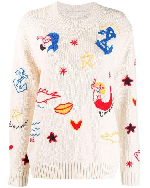 Chinti & Parker マーメイド セーター Multicolor