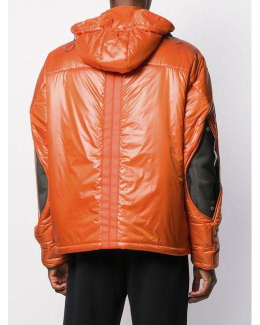 メンズ A_COLD_WALL* * オレンジ Dissection パファー ジャケット Orange