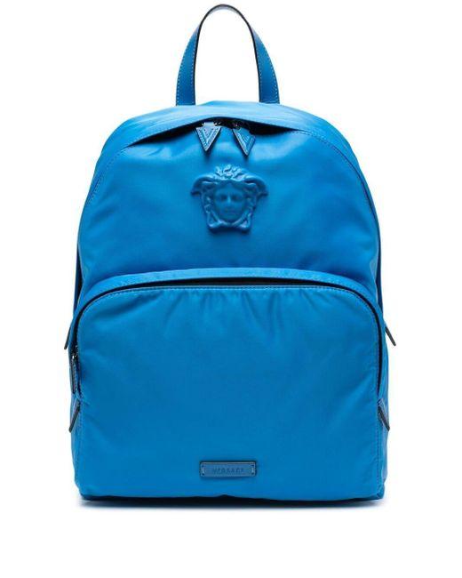 Рюкзак С Декором Medusa Versace для него, цвет: Blue
