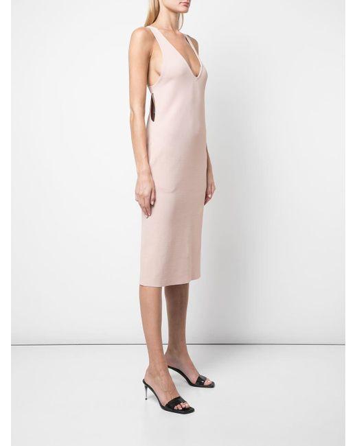 Stella McCartney レーサーバック ドレス Pink