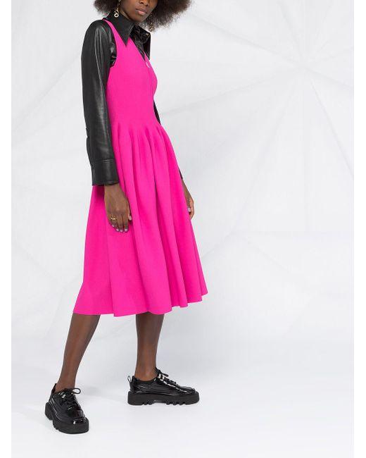 Платье На Молнии Stella McCartney, цвет: Pink