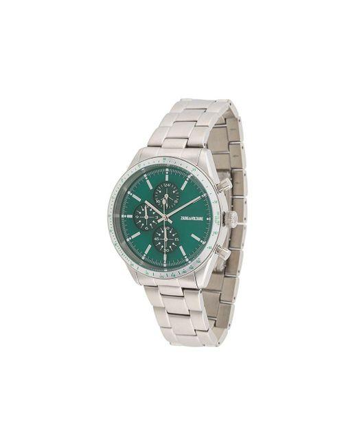 メンズ Zadig & Voltaire Montre Master 腕時計 Metallic