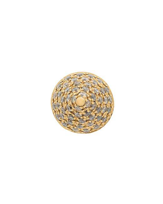 Elise Dray - Metallic Embellished Stud Earring - Lyst