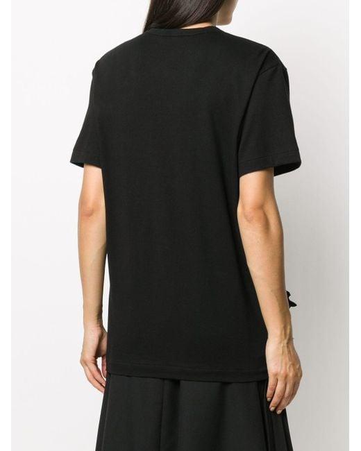 Comme des Garçons ラッフル Tシャツ Black