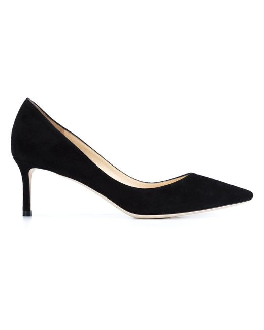 Escarpins En Cuir Verni Romy 60 Jimmy Choo en coloris Black