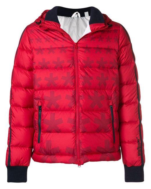 メンズ Rossignol Wallpaper* X 'cesar Asterisk' ダウンジャケット Red