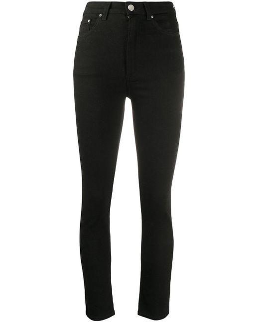 Totême  Black New Standard Slim-fit Jeans