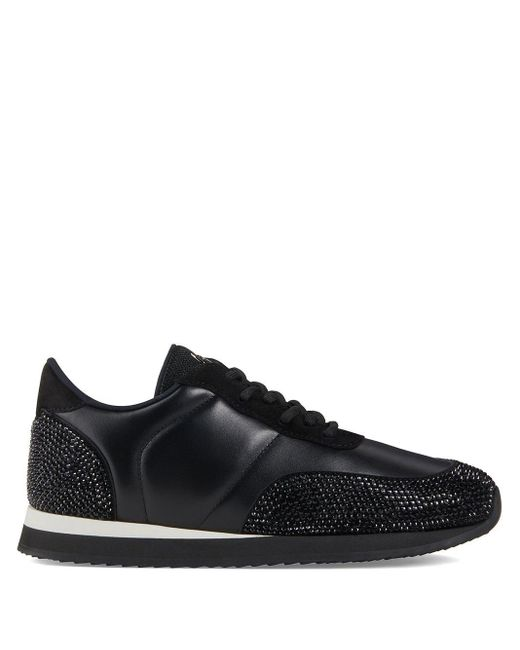 Giuseppe Zanotti 'Jimi Running' Sneakers in Black für Herren