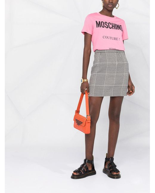 Moschino ロゴ Tシャツ Pink