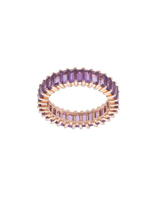 Dana Rebecca Purple Amethyst Eternity Ring